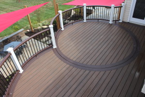 Curved Deck Design