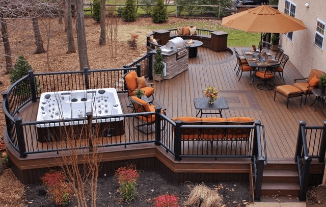 Deck Design Ideas For Creating The One Of A Kind Of