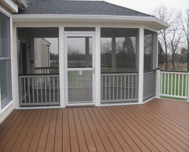 screened deck designs 5 - Screen Porch Ideas Designs
