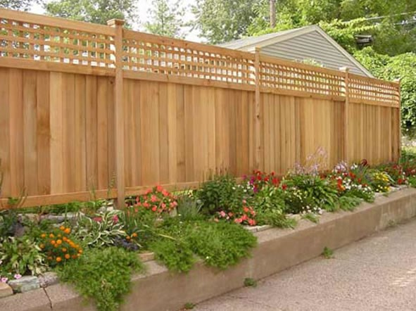 Fencing For Patio Or Deck Privacy  Amazing Deck