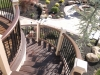 Curved Trex Deck with Railing Design- Morristown NJ
