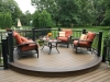 Curved Deck Trex Design- Collegeville Pa