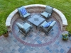 Custom Blue Stone Patio with Seat Wall- Dresher Pa