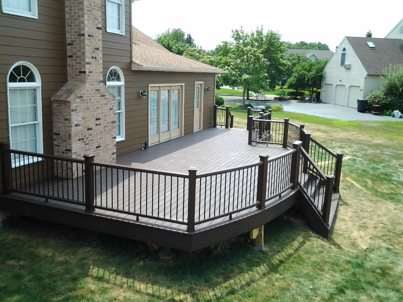 Small Curved Deck Designs  Amazing Deck