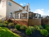 Trex Deck Design with Trex Railing in Pa- Amazing Deck