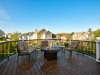 Trex Decking with Outdoor Firepit- Trevose PA- Amazing Deck