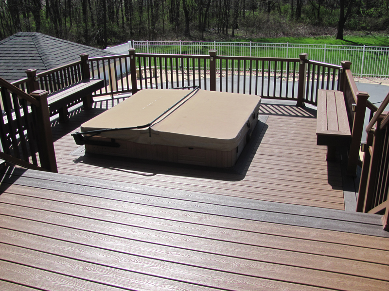 Spa & Pool Deck Designs- Pool Deck Contractor- Amazing Decks