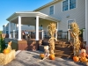 Trex Deck Design with Covered Deck in PA- Amazing Deck