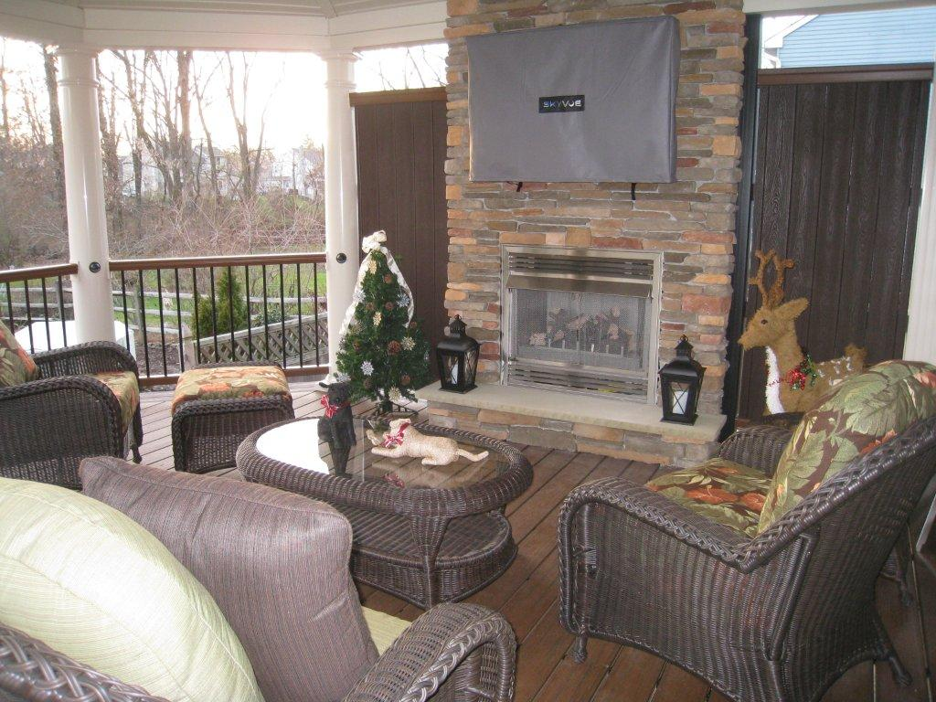 deck fireplace designs fireplaces for decks amazing decks