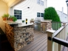 Custom Deck with Outdoor Kitchen- Amazing Deck