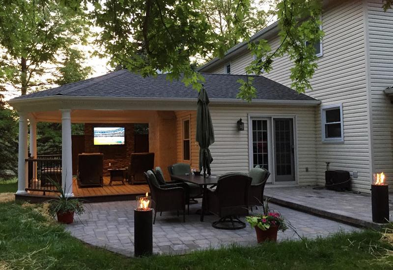 Amazing Outdoor Patio Designs- Outdoor Patio Contractor- Amazing Decks