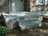 Front Step Design with Stones- Amazing Deck