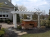 Pergola for Patios with Spas- Amazing Deck