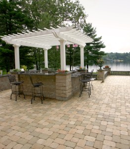 Unilock Paver Stones- Custom Patio and Deck Builders in PA and NJ- Amazing Deck