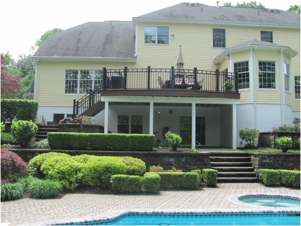 expanding integrated outdoor patio and deck designs amazing decks