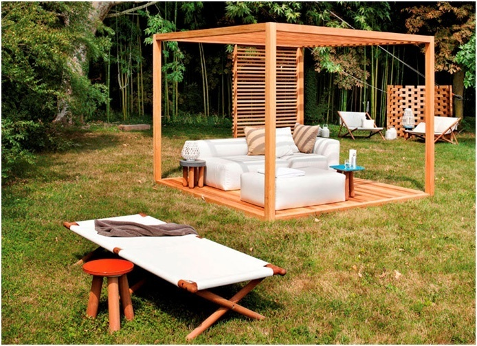 Backyard Oasis Designs wooden pergola designs to create an oasis in your backyard