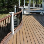 Custom Curved Trex Decking Design- Amazing Deck