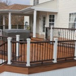 Curved Deck Design with Roof- Amazing Deck