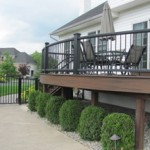 Custom Curved Deck with Trex Decking- Deck Builders in Pa and NJ- Amazing Decks