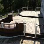 Trex Curved Deck Builder in PA and NJ- Amazing Deck
