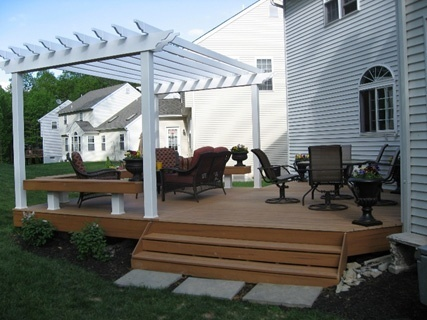 Finishing Touches That Make Pergola Designs For Decks One Of A Kind