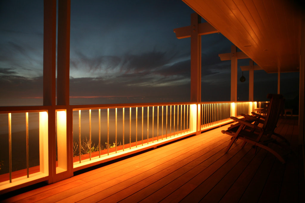Deck Lighting Ideas- Deck Railing Lighting- Amazing Deck