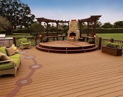 outdoor fireplace and pergolas