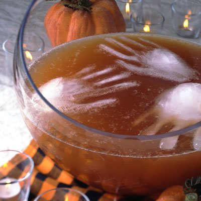 Halloween punch bowl