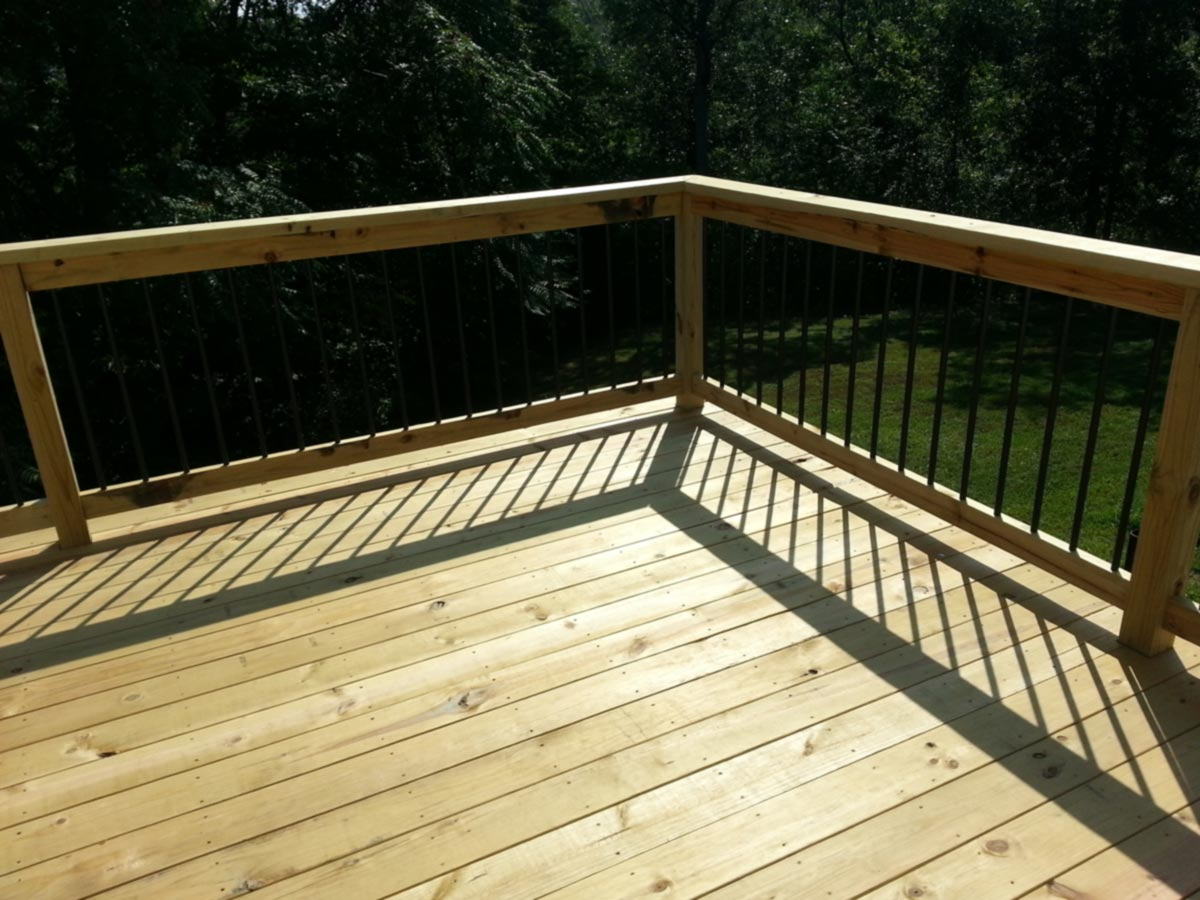 Before and after wooden decks vs composite deck amazing deck for Best timber for decking