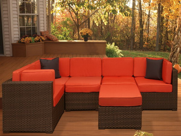 Piece Deep Seating Patio Furniture Source State Homes_com